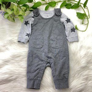 Star Baby Jumper Onesie Outfit Set Overalls